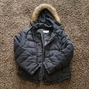 Women's Calvin Klein Black Winter Puffer Jacket